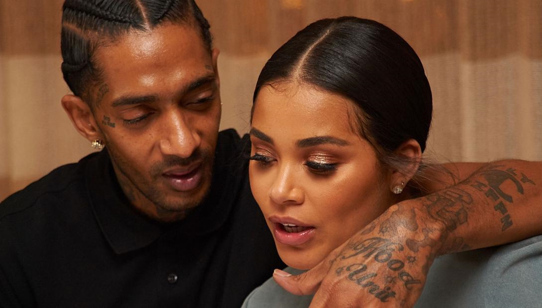Lauren London Shares Intimate Video With Nipsey Hussle