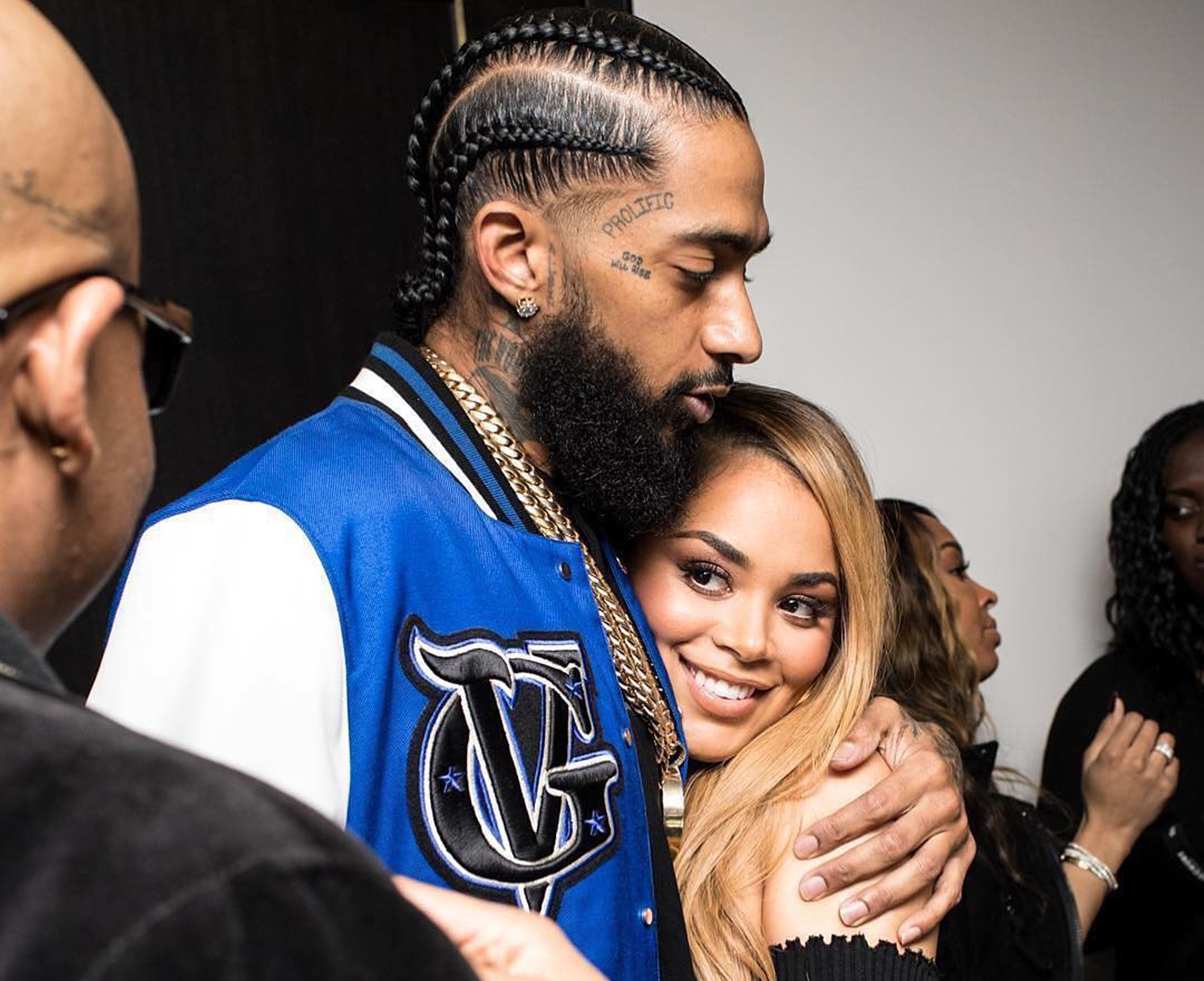 Nipsy Hussle Lauren London The Game