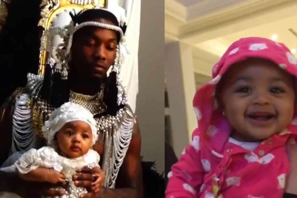 Offset Has Fans Rooting For Baby Kulture After He Shows Off Her Impressive Singing Skills - Here's The Video