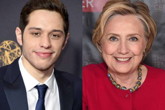 Pete Davidson Snaps Picture With Hillary Clinton Following Her MSNBC Interview