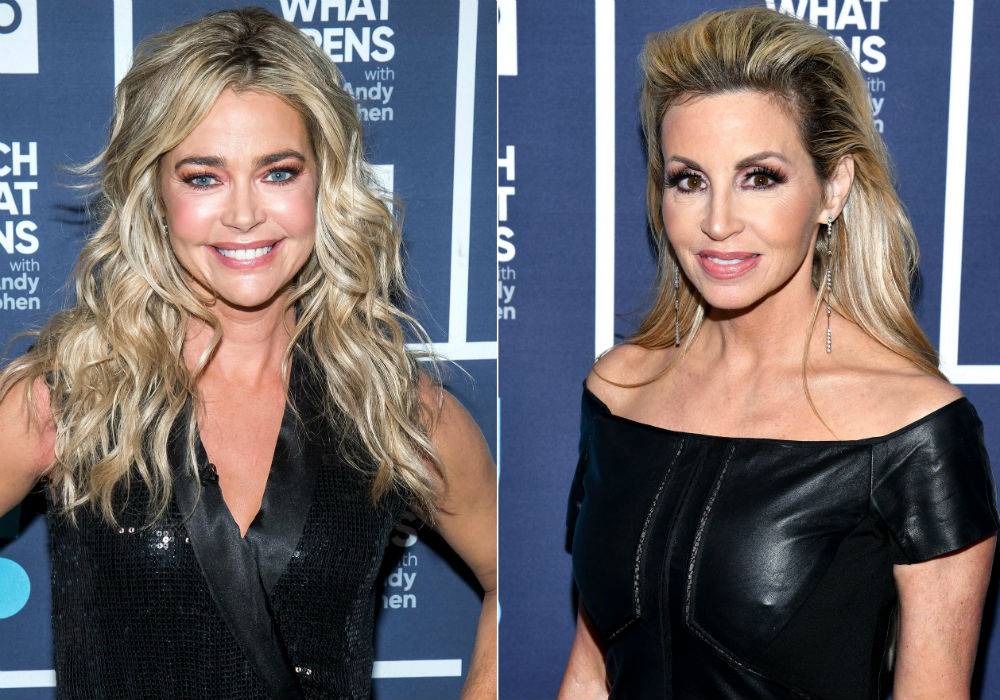 RHOBH Newbie Denise Richards Slams 'Fake' Camille Grammer