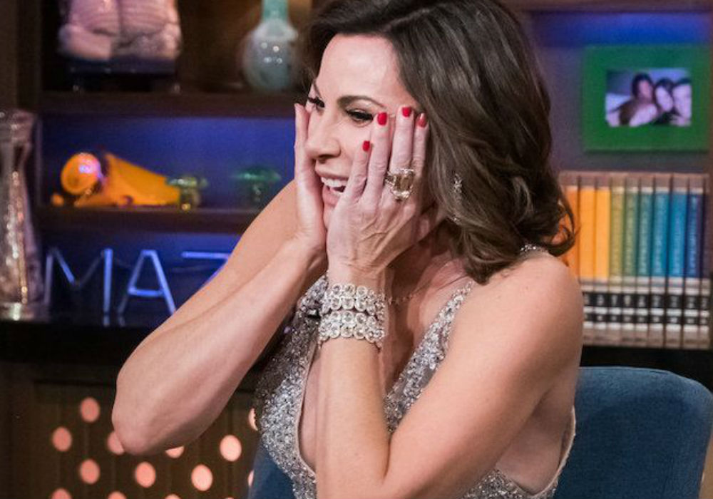 RHONY LuAnn De Lesseps Is 'In Denial' About Her Serious Sobriety Issues