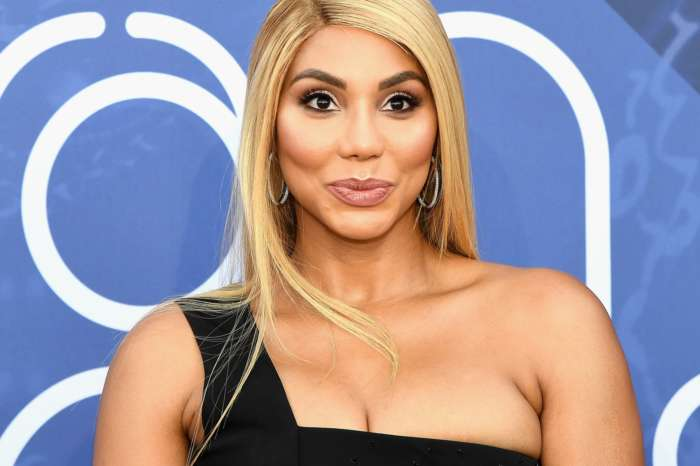 Tamar Braxton Blows People's Minds In A Red Latex Outfit And Snatches Her Wig Off On Stage