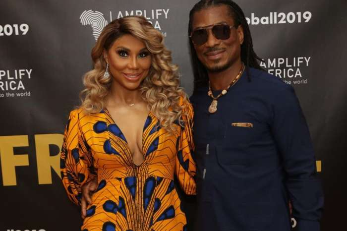 Tamar Braxton Looks Like A Princess In Ankra Gown At The Afro Ball With David Adefeso -- The Pictures Come With Hints That The Boyfriend Might Soon Pop The Question