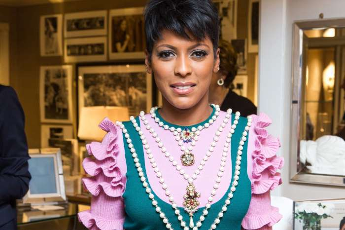 Tamron Hall Debuts Sweet Picture Of Baby Moses With His Grandmother, Mary Newton, And Writes Emotional Message To Her Other 'Kids'