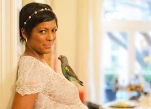 Tamron Hall Shows Her Stunning Figure In New Picture With Baby Moses As Her Husband, Steve Greener, Buys The Entire Flower Shop On Her First Mother's Day