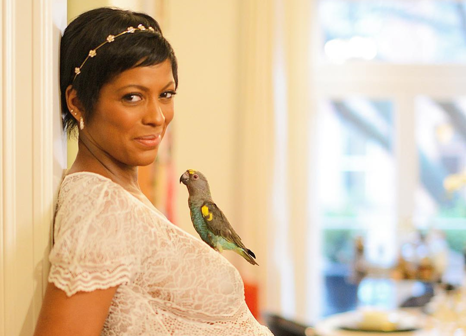 tamron-hall-shows-her-stunning-figure-in-new-picture-with-baby-moses-as-her-husband-steve-greener-buys-the-entire-flower-shop-on-her-first-mothers-day