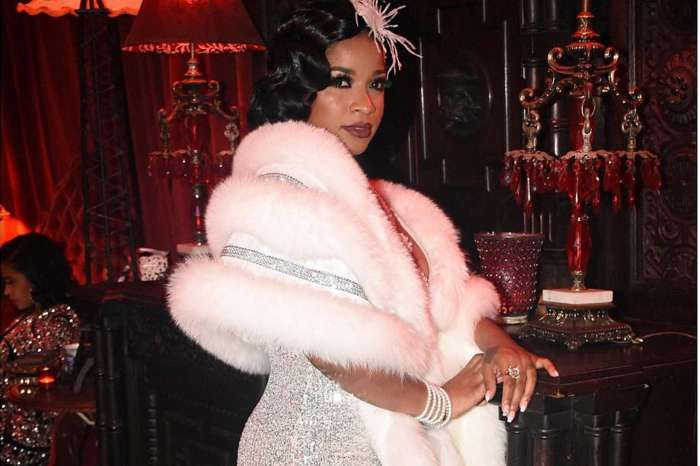 Toya Wright Stole The Show In Old Hollywood Dress And Hair At Lavish Party -- Robert Rushing Might Need To Hire A Bodyguard After Seeing The Pictures