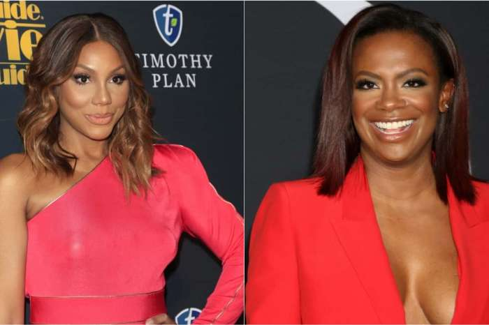 Tamar Braxton Shares A Racy Video With Kandi Burruss - Fans Gush Over Tamar's Cellulite And Praise Kandi's Dance