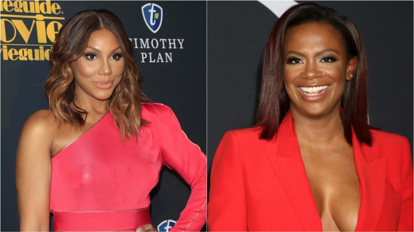 Tamar Braxton Gushes Over Kandi Burruss For Her Birthday With The Raciest Video - Fans Gush Over Tamar's Cellulite And Praise Kandi's Dance