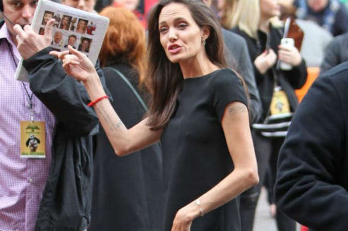 Are 'Scary Skinny' Angelina Jolie's Kids Trying To Force Her To Eat?