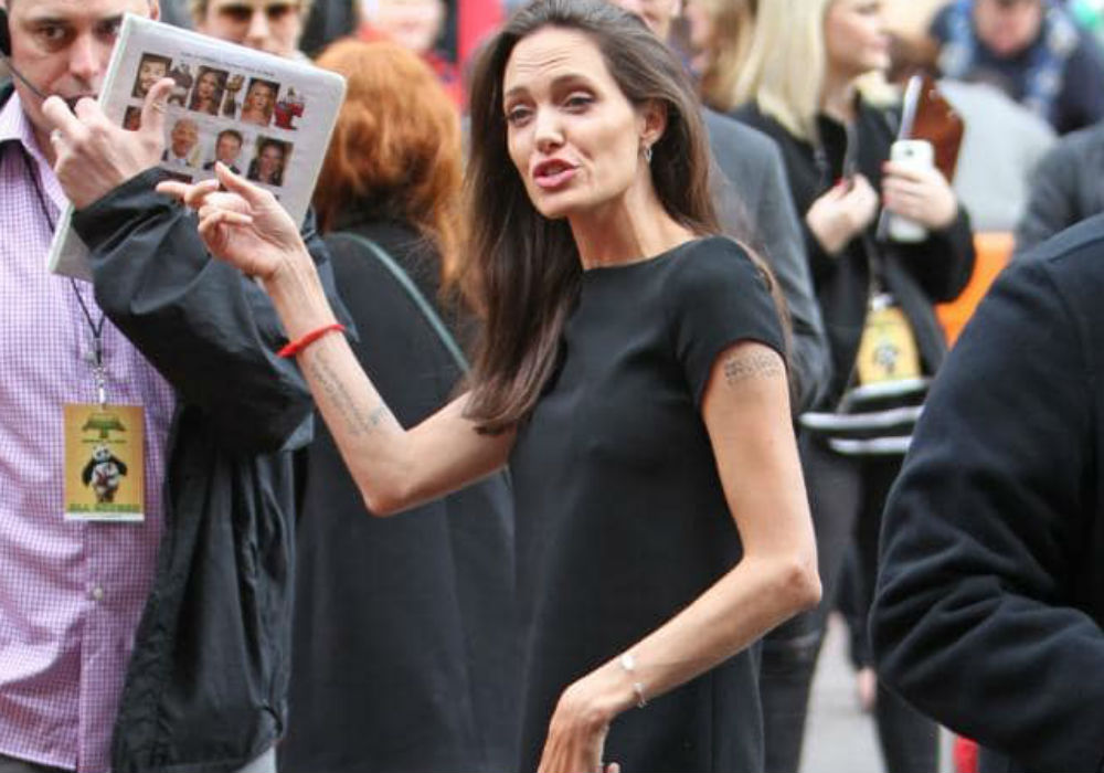 Are 'Scary Skinny' Angelina Jolie's Kids Trying To Force Her To Eat_