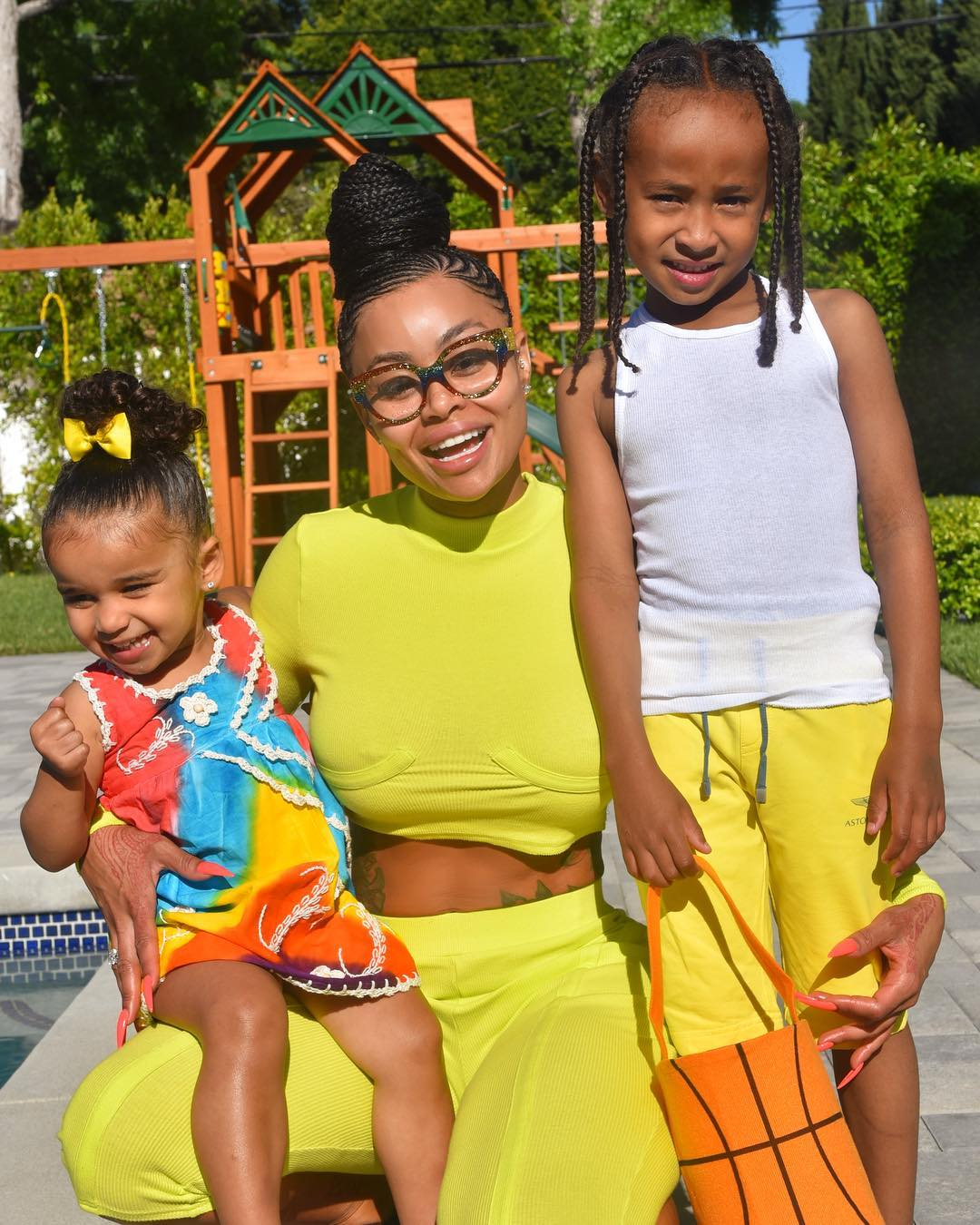 Blac Chyna's Latest Videos Of Her Kids, Dream And King Have Fans In Awe: Dream Is A True Rock Star And King Is Twinning With His Dad
