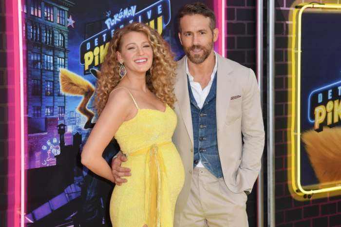 Pregnant Blake Lively Stuns On 'Pokémon Detective Pikachu' Yellow Carpet With Husband Ryan Reynolds