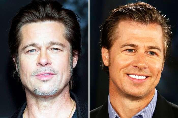 Brad Pitt's Younger Brother Doug Pitt Recreates Famous Box Scene From Se7en