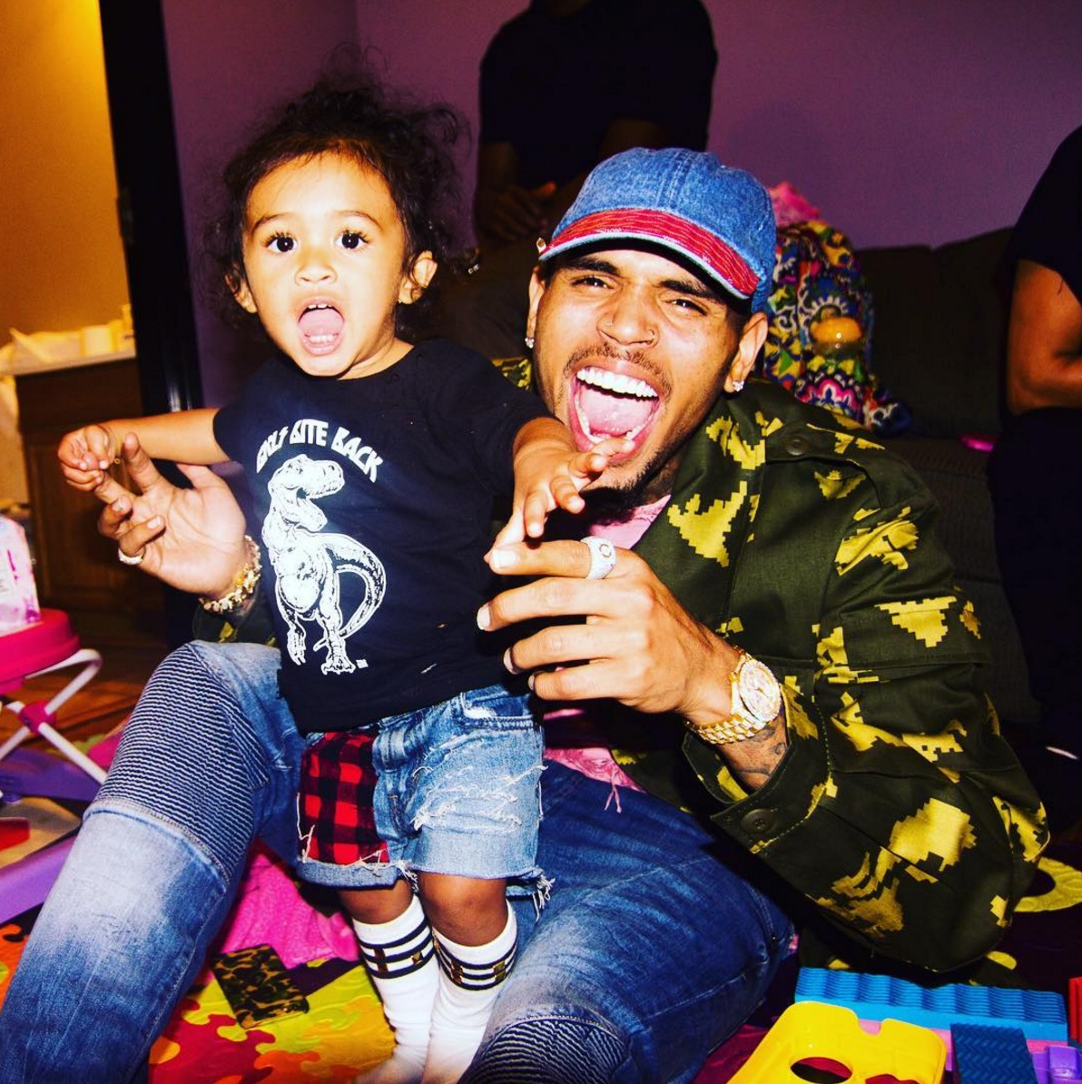 Chris Brown's Message And Photos In Honor Of His Baby Girl Royalty's Fifth Birthday Have Fans In Awe - See His Emotional Post
