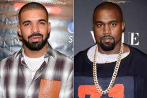 Kanye West Says He's 'Not Allowed' To Mention Nemesis Drake's Name