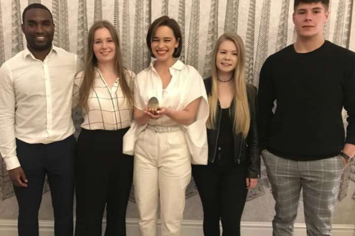 Emilia Clarke Gets $45,000 For Her Same You Charity By Game Of Thrones Fan-Started Fundraiser