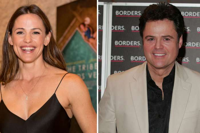Jennifer Garner Freaks Out After Her Crush Donny Osmond Acknowledges Her Beauty!