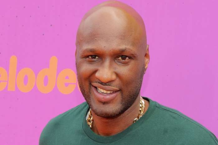 Lamar Odom Shows Fans The Woman Of His Life - See The Photo