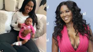 Kenya Moore Shares The Sweetest Photo Of Brooklyn With A Puppy And Fans Cannot Have Enough Of The Baby Girl