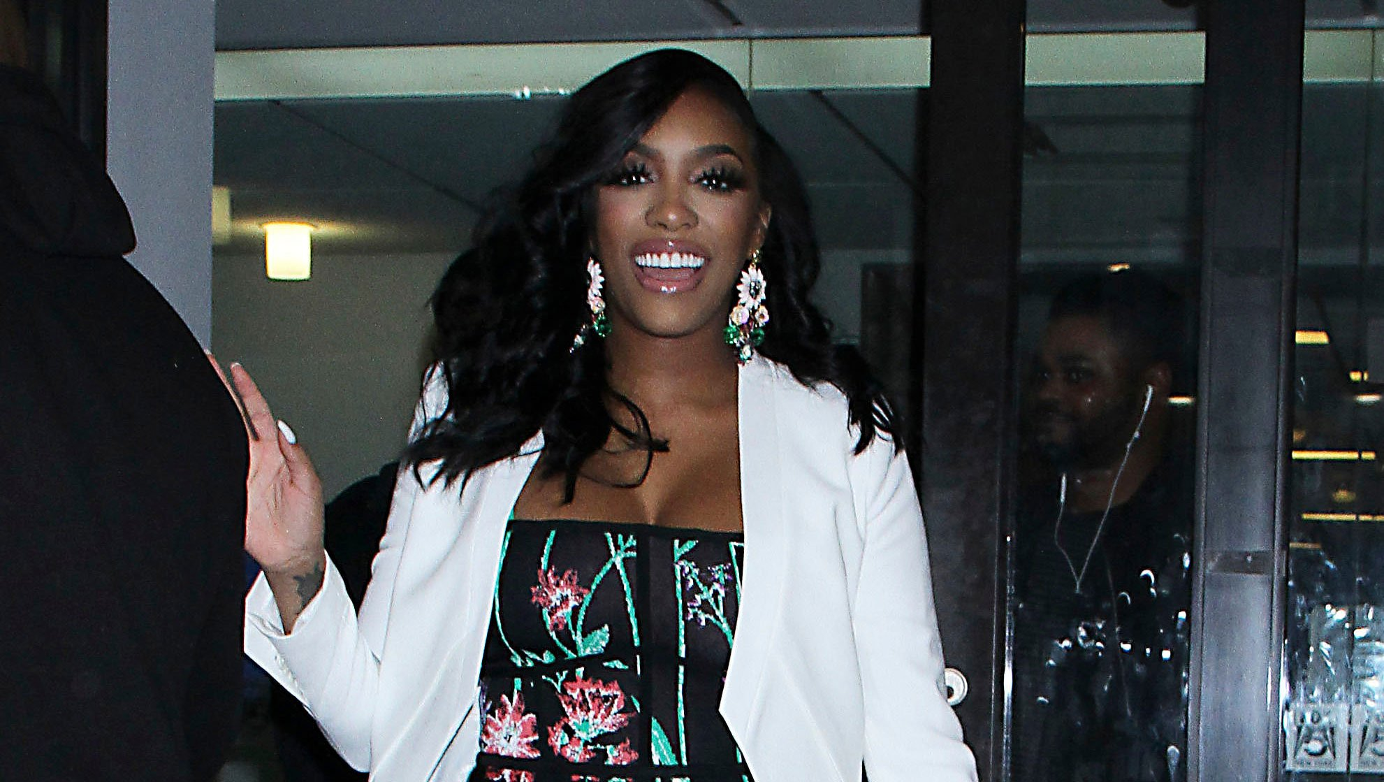 """porsha-williams-shows-fans-her-favorite-dress-that-she-could-wear-before-and-during-pregnancy-its-from-her-own-collection"""