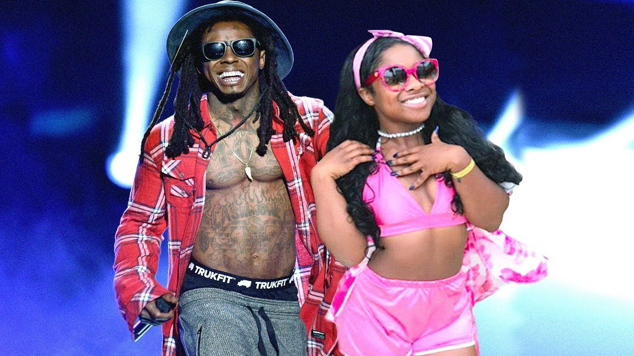 Reginae Carter Impresses Fans By Holding Her Daddy Down - See Her Spitting Some Lil Wayne Vintage Lyrics