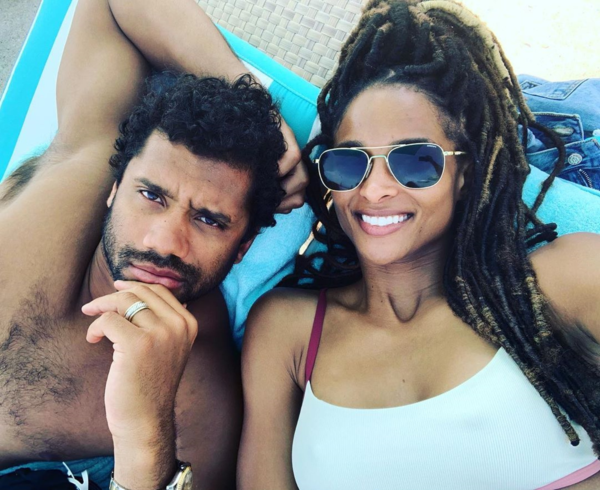 Russell Wilson Ciara Stay Connected