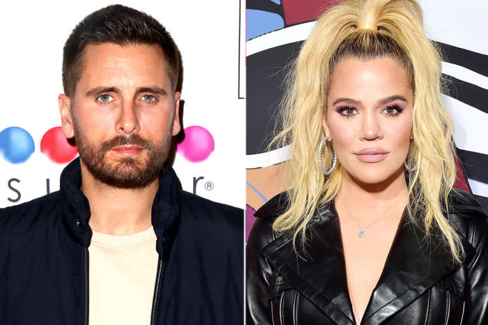 KUWK: Khloe Kardashian Claps Back At Fan Who Thinks She And Scott Disick Are Not Just Platonic