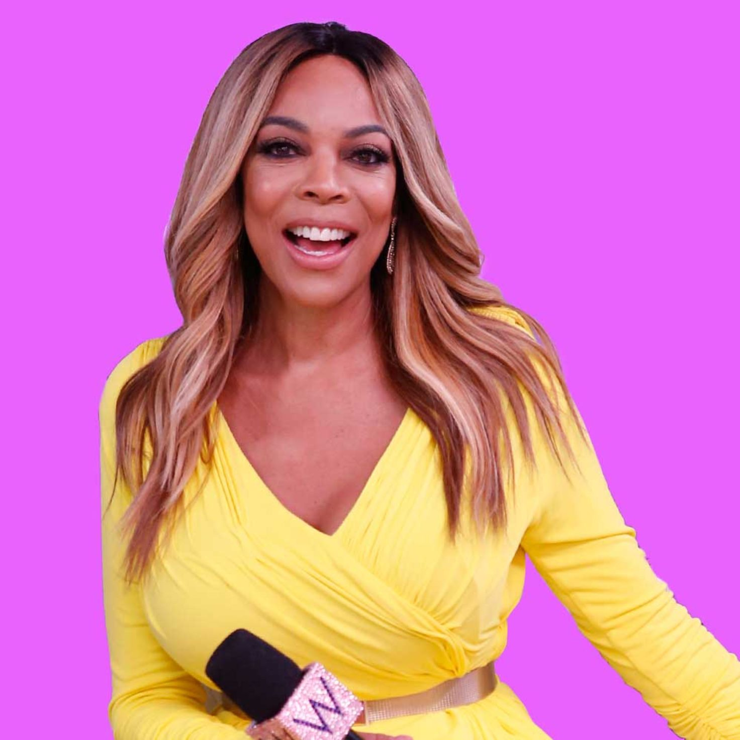 Wendy Williams Talks About Her Hourglass Figure Amidst Rumors That She's Hanging Around With Kevin Hunter While His Mistress, Sharina Is Away