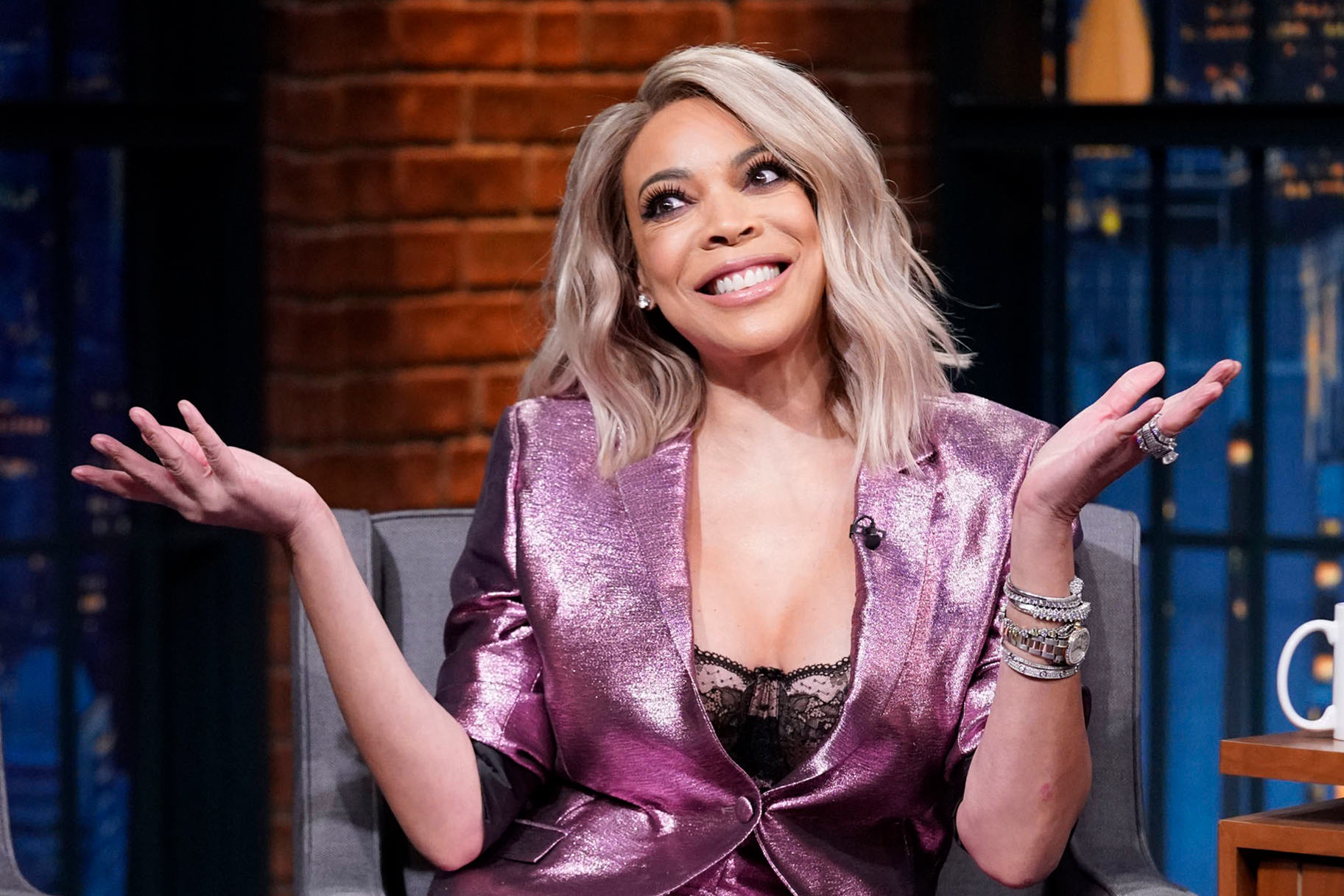 Wendy Williams Supports The LGBTQ Community At L'HOMMAGE Presented By Fierce - Fans Are Praising Her Look