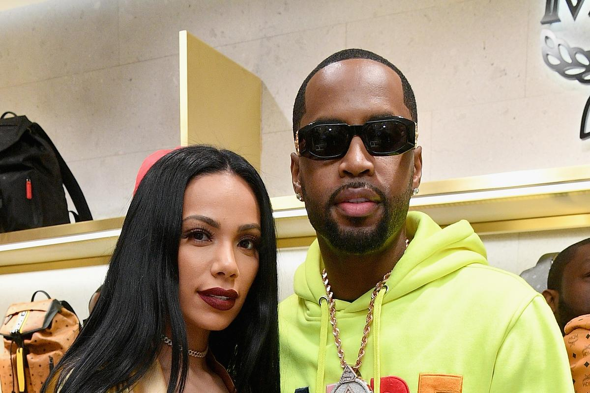 Erica Mena Is Promoting Safaree's Birthday Bash - She Will Host The Event