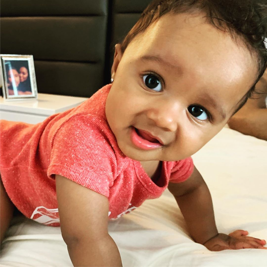 """kenya-moores-baby-girl-brooklyn-is-crawling-in-the-latest-video-and-fans-find-this-therapeutic-to-watch"""