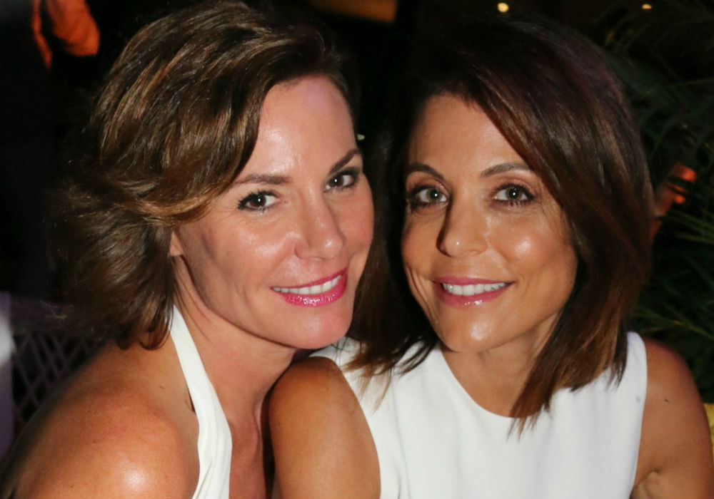 Are RHONY Stars Bethenny Frankel And LuAnn De Lesseps Friends Today_