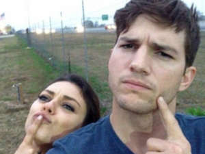 Ashton Kutcher And Mila Kunis Mock Split Rumors In Hilarious Instagram Video