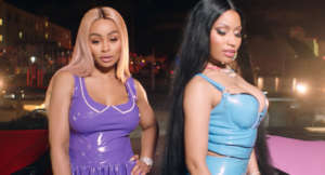 Nicki Minaj And Blac Chyna's Fans Believe That These Two Linked Up For Megatron Video