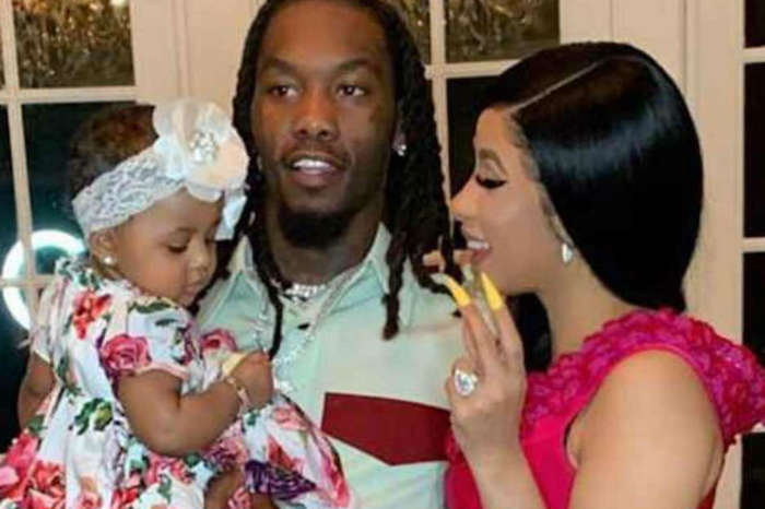 Offset Praises Wife Cardi B's Creativity With Sultry Photo From Her Press Video