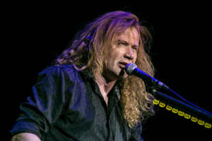 Frontman Of Megadeth Dave Mustaine Diagnosed With Throat Cancer