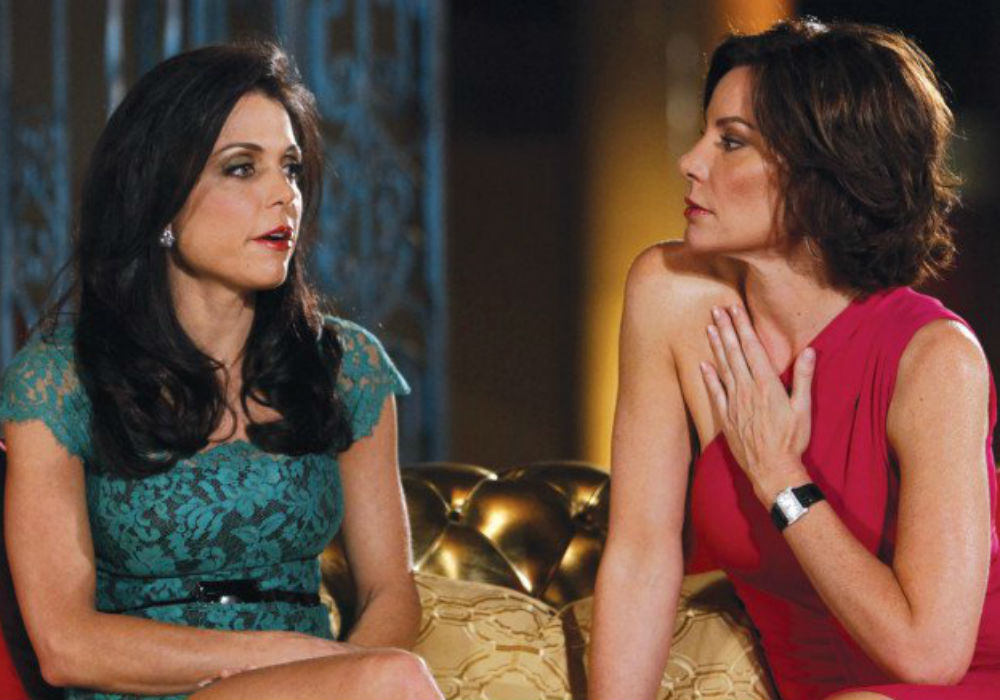 Delusional RHONY LuAnn De Lesseps Refuses To Acknowledge Everything Bethenny Frankel Has Done For Her