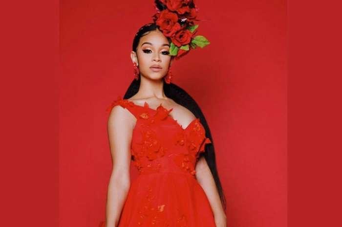 Tiny Harris' Bonus Daughter, Deyjah, Stuns In Red Dress -- The Pictures Have Ms. Niko And Kandi Burruss In Total Awe