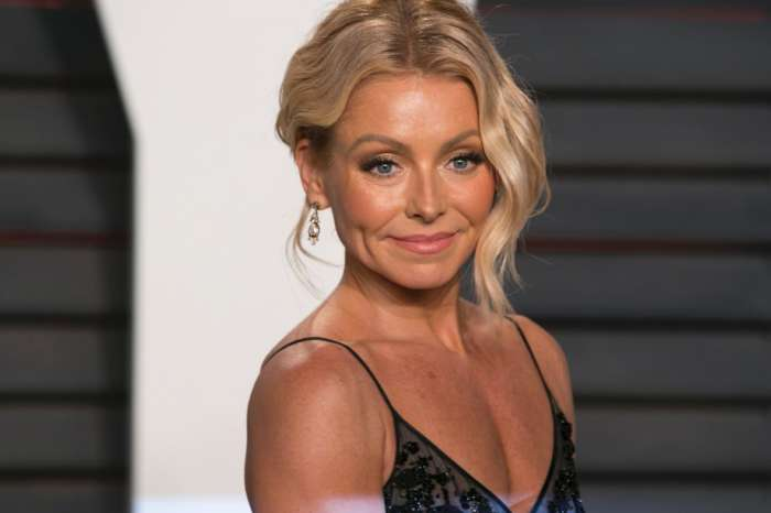 Kelly Ripa's Daughter Takes Epic Beach Photo Of Her Hot Mom In A White Bathing Suit