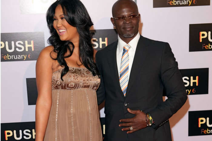 Kimora Lee Simmons Not Keeping Son From Djimon Hounsou Despite Actor's Public Father's Day Complaint