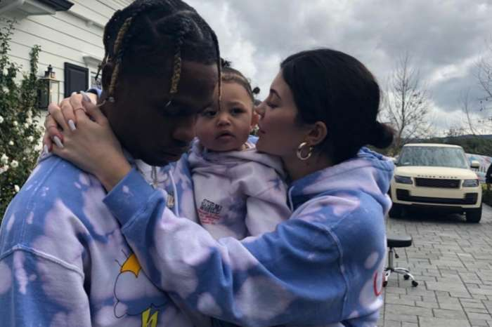 Kylie Jenner Praises Travis Scott With Father's Day Photos Of Stormi