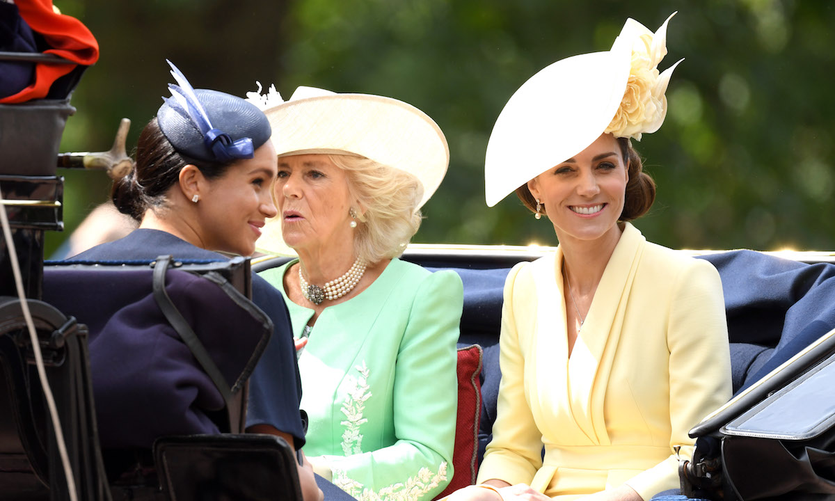 Meghan Markle And Kate Middleton Put On A United Front At Trooping The Color Despite Family Feud