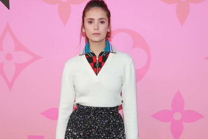 Nina Dobrev Wows At Louis Vuitton Exhibition — Says She Will Sign Taylor Swift's Equality Act Petition