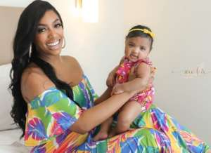 Porsha Williams And Baby Pilar Are Twinning In New Stunning Ocean Photo Shoot With BFF Shamea Morton