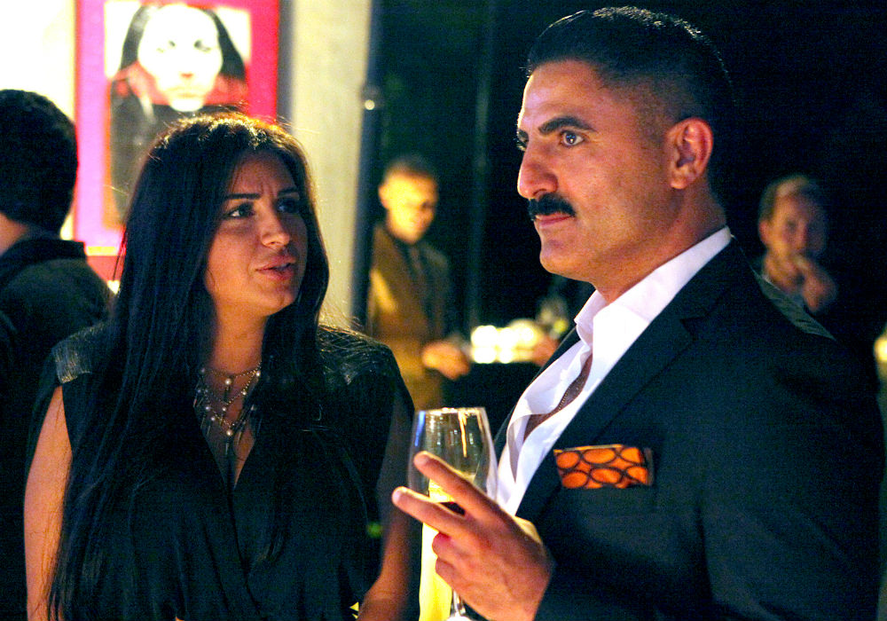 Shahs Of Sunset Stars Mercedes MJ Javid And Reza Farahan At War