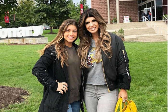 Teresa Giudice's Daughter Gia Graduates High School As Family Awaits Joe's Fate