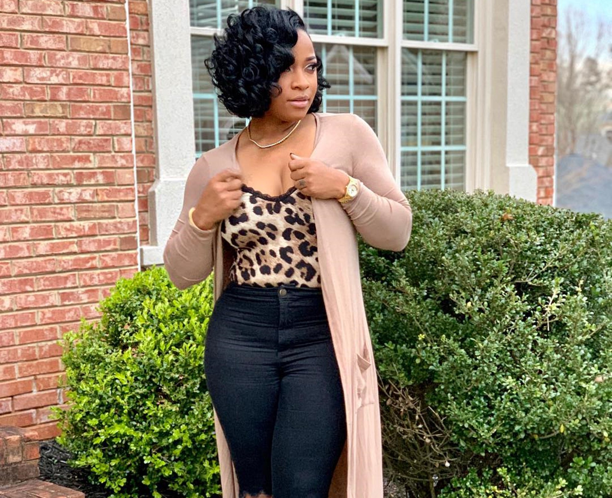 Toya Wright Shares With Fans How She's Becoming A Stronger Woman Lately