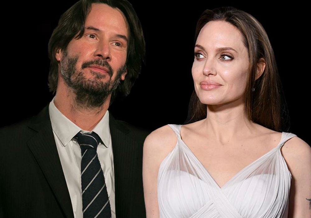 Are Angelina Jolie And Keanu Reeves Really Dating_